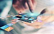 Hände Apps Social Media